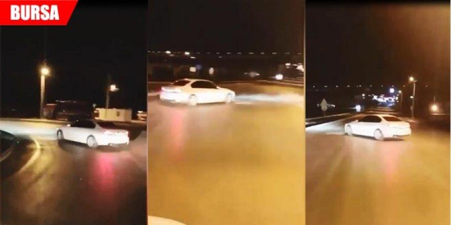 Trafikte tehlikeli hareketler