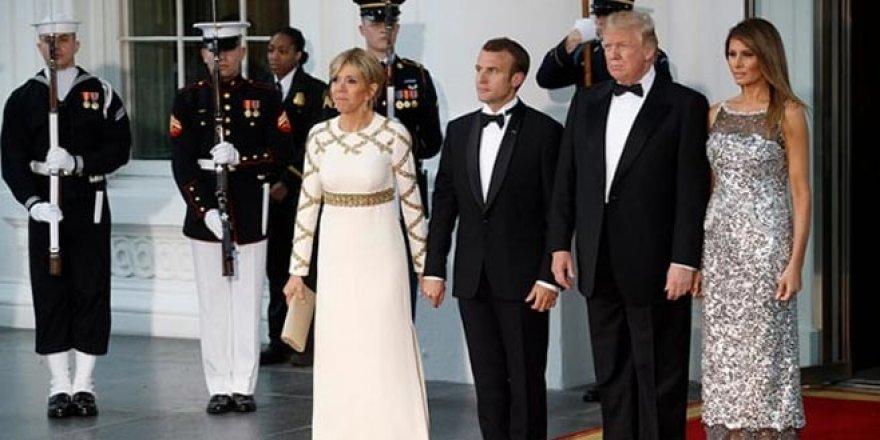 ABD Başkanı ile First Lady arasında 'el tutuşma' krizi