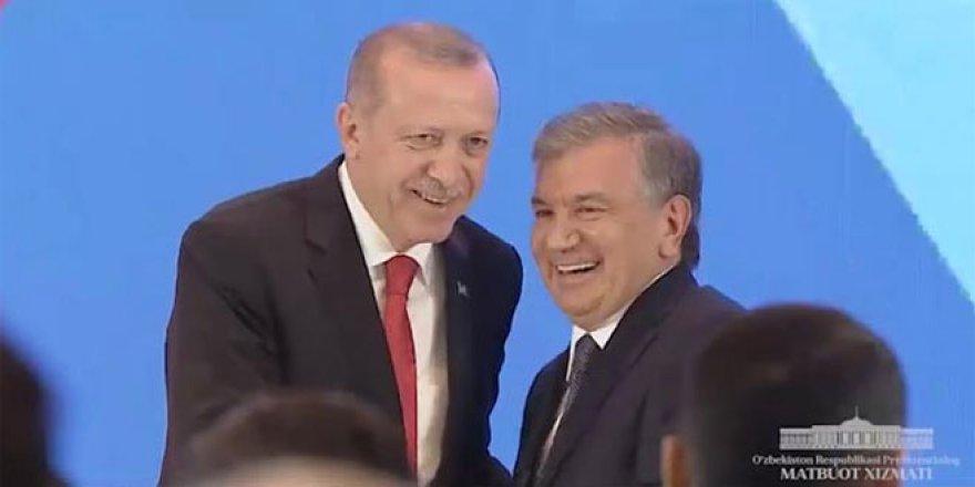 Özbekistan'dan Erdoğan'ın ziyareti için klip