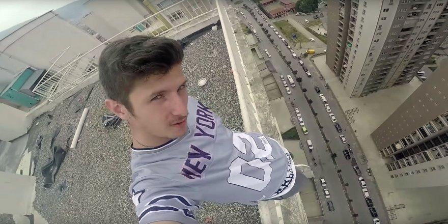 Binaların tepesinde ölümüne spor
