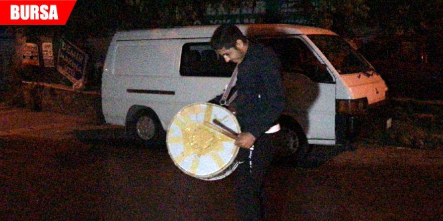 Asırların geleneği Ramazan'la birlikte başladı