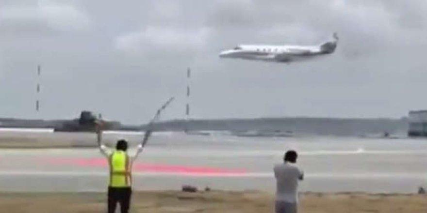 Üçüncü havalimanı pistinde ilk uçuş