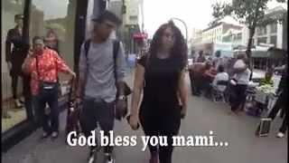 Sokakta kadına tacizi kaydettiler