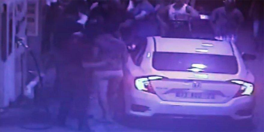 AK Partili kadınlara saldırı girişimi kamerada