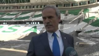 Bursaspor'un Yeni Avrupa Yıldızları Bu Stadyumdan Çıkacak