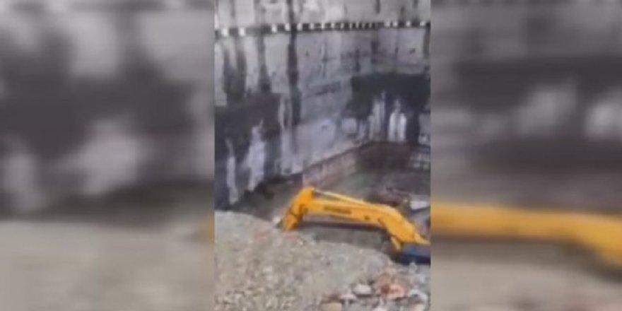 Çöken binanın çökmeden önceki görüntüsü ortaya çıktı!