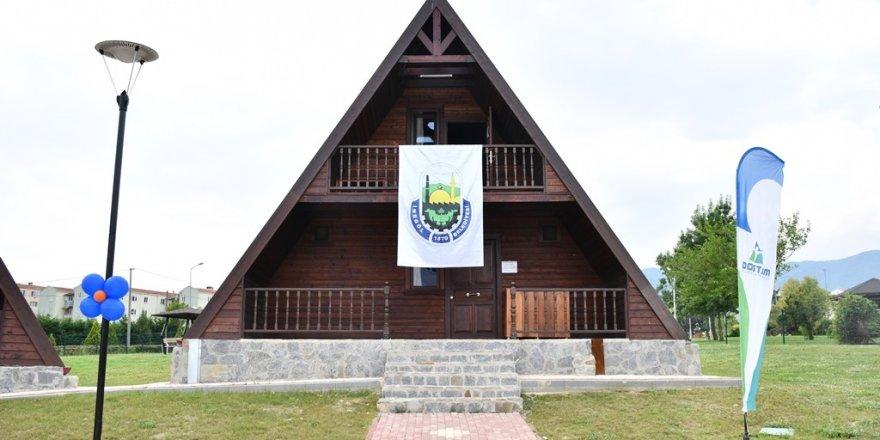 DOSTUM bungalov evleri törenle açıldı
