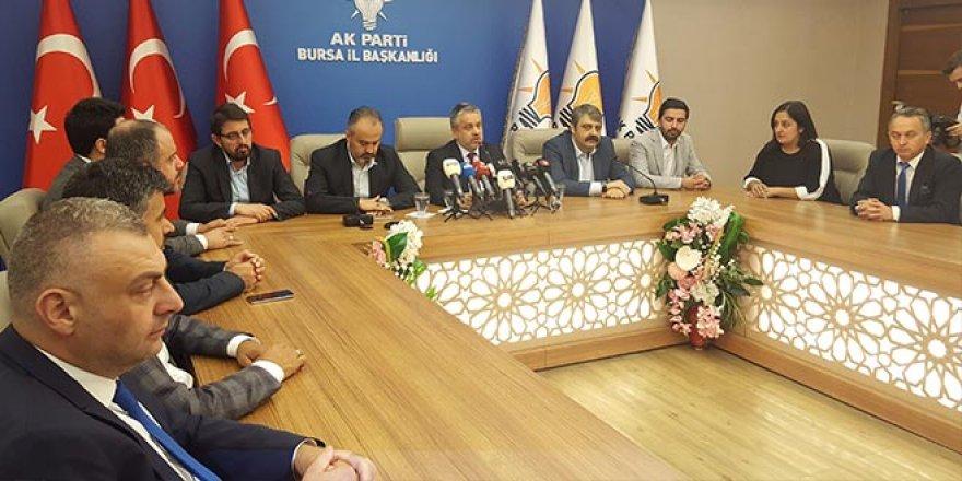 AK Parti Bursa'dan büyük kongreye büyük destek