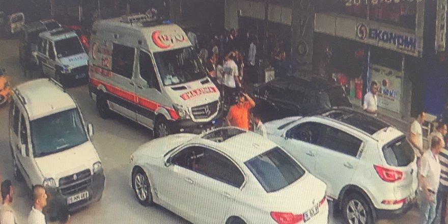 Gelin arabalı ve kalaşnikoflu soygun girişiminin yeni görüntüler