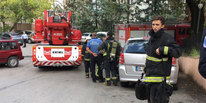Bursa'da asılsız yangın ihbarı