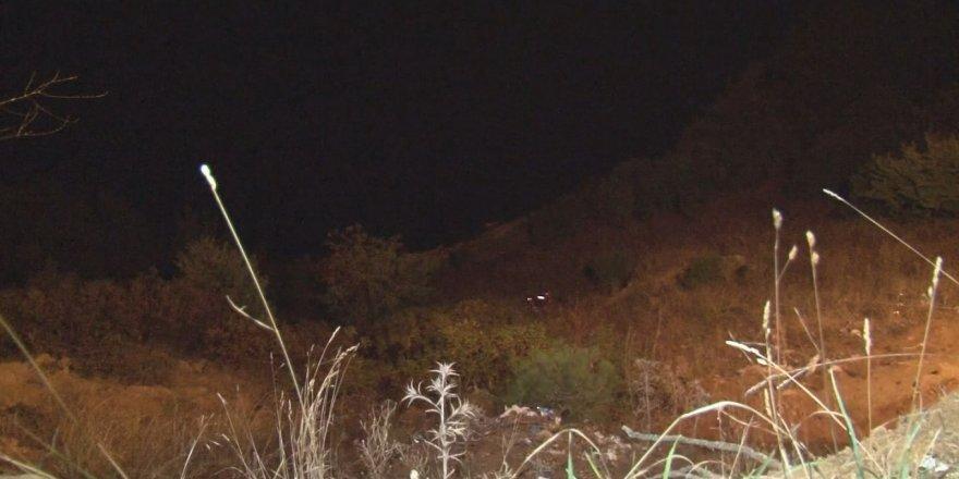 Yoldan baraj kıyısına düşen kişi kurtarıldı