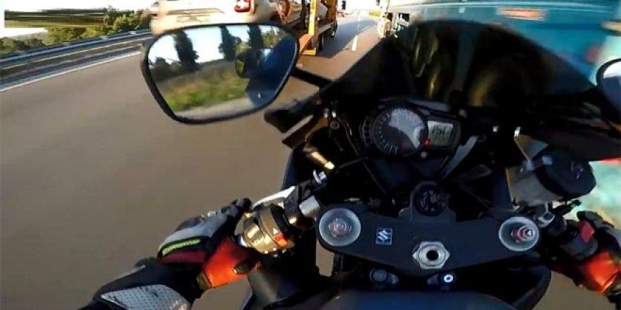 'Motosikletli maganda' terörü