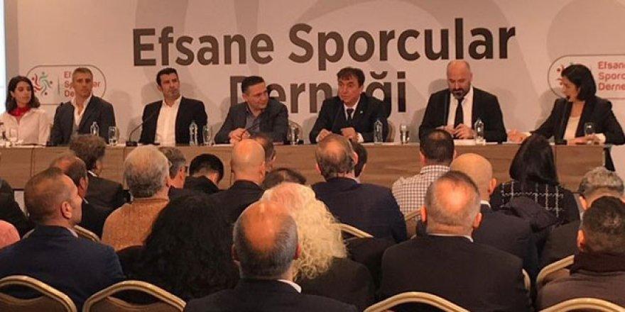Efsane Sporcular Derneği açıldı