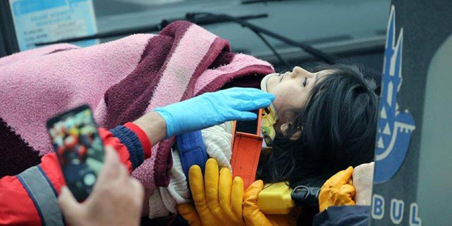 Küçük kız 18 saat sonra kurtarıldı
