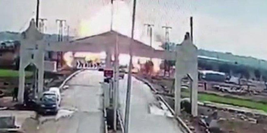 Kilis sınırında patlama