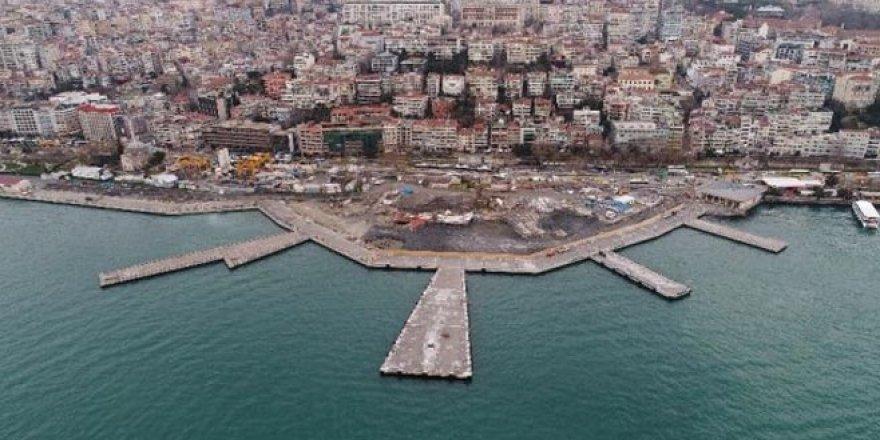 Martı Projesi'nde son durum havadan görüntülendi