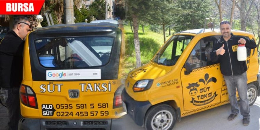 Bu taksi bildiğiniz taksilerden değil! Yöneticiliği bıraktı ve bu işe girdi...