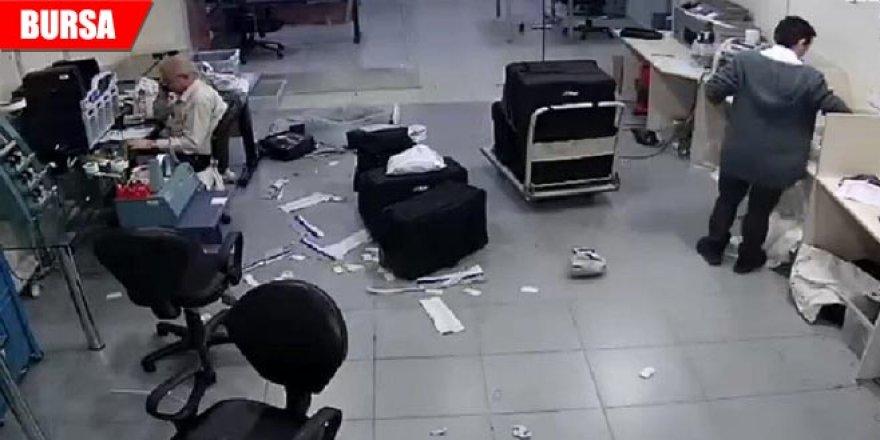 Çalıştığı iş yerinden 50 bin lira çaldı! Güvenlik kamerasına böyle yakalandı