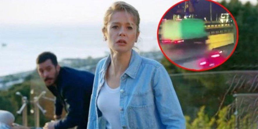 Kuzgun dizisi çalışanının feci şekilde öldüğü kaza an be an kamerada!