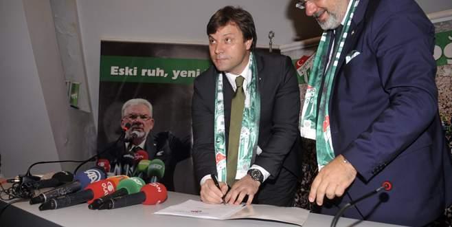 Bursaspor'da ikinci Ertuğrul Sağlam dönemi başladı!