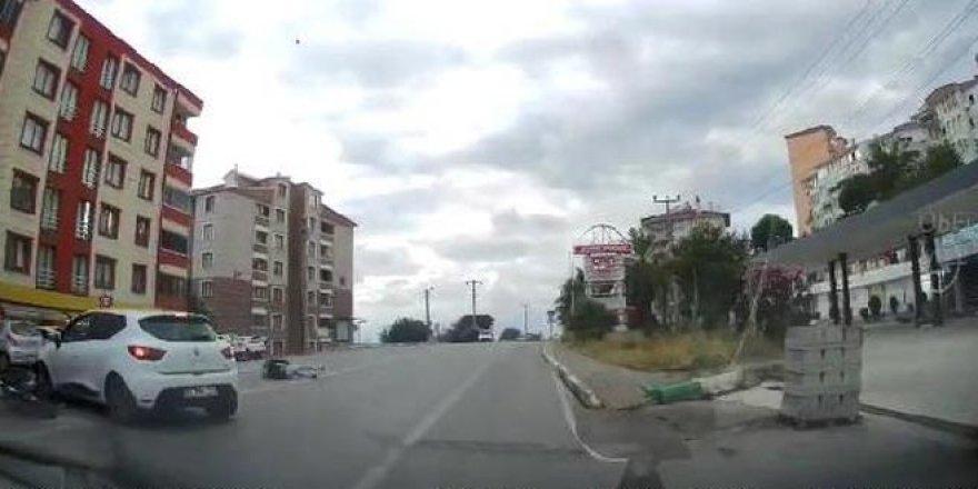 Trafikte hata kaza getirdi: 1 ağır yaralı
