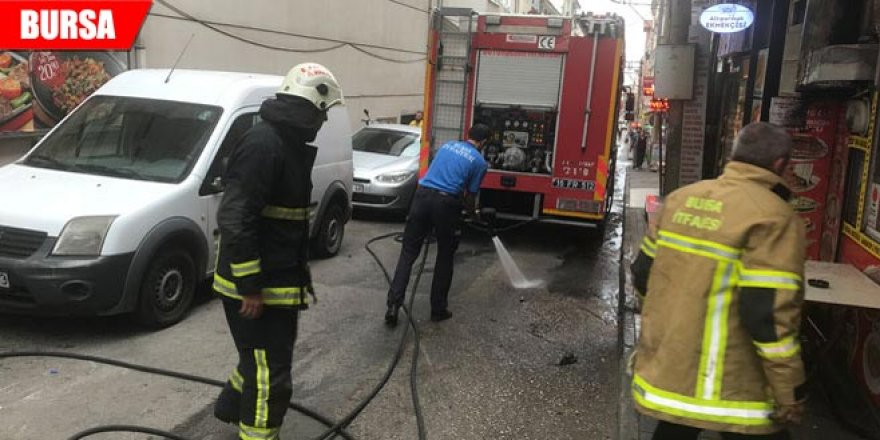 Pidecideki yangın vatandaşları sokağa döktü