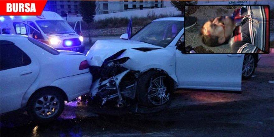 Müşteri olarak gittiği gece kulübünün şoförü ile kafa kafaya çarpıştı