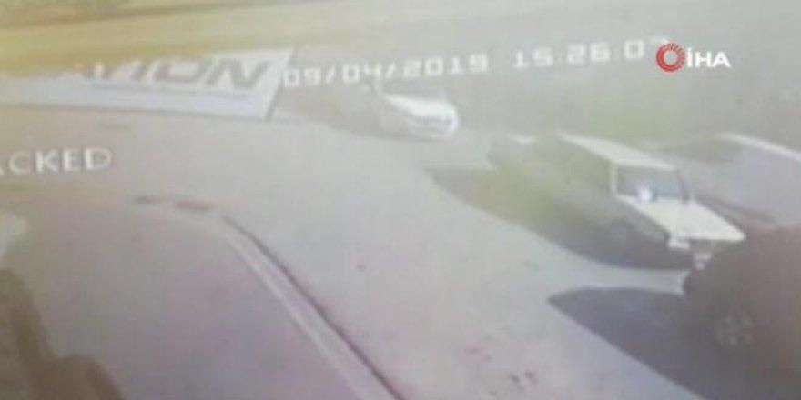 Korkunç kaza kamerada