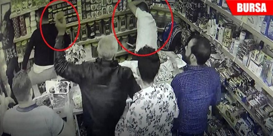 Veresiye vermeyen marketçiyi öldüresiye dövdüler