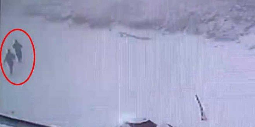 Kaybolan dağcıların son görüntüsü çıktı