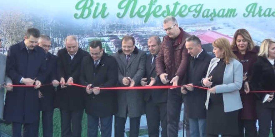 Mustafakemalpaşa Sosyal Etkinlik Merkezi törenle hizmete açıldı