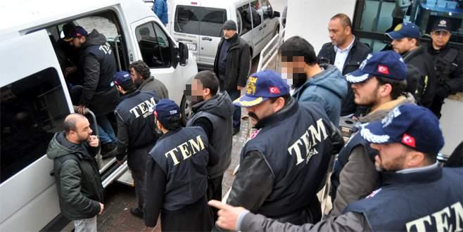 Bursada IŞİD operasyonu: 12 kişi yakalandı 21