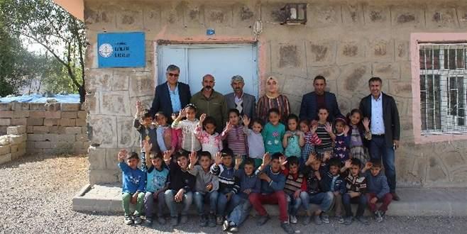 İnşaat firmasından köy okullarına yardım