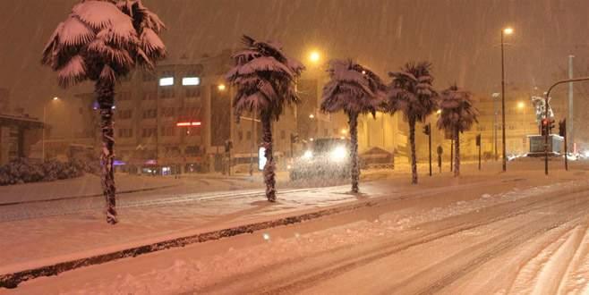Bursa'ya kuvvetli ve yoğun kar yağışı geliyor