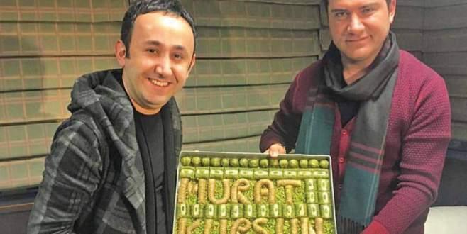 Murat Kurşun'a tatlı sürpriz