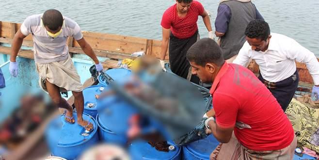 Sığınmacı teknesine saldırı: 31 ölü