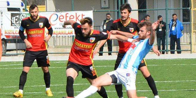 Karacabey puanla döndü: 1-1