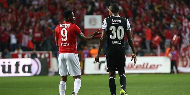 Beşiktaş, Antalyaspor ile berabere kaldı