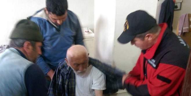 Bursa'da 85 yaşındaki dede, 19 saat sonra bulundu