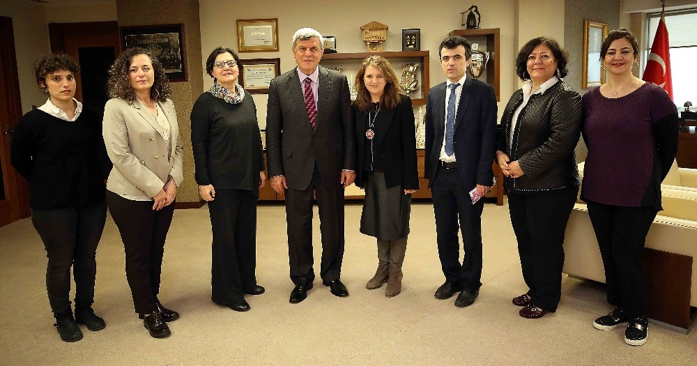Başkan Karaosmanoğlu, TEMA Vakfı ile buluştu