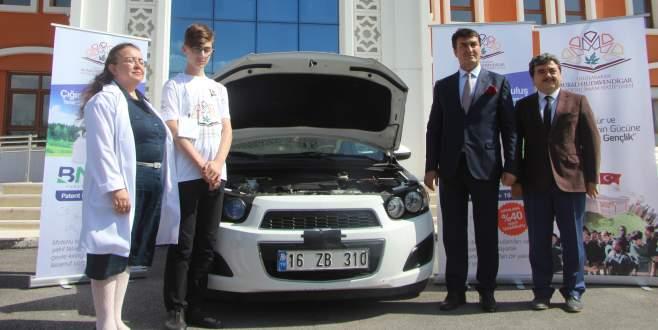 Bursalı öğrenciler yaptı. Yüzde 25 yakıt tasarrufu sağlıyor