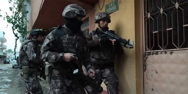 Bursa'daki 'Şafak 16' operasyonunda 36 tutuklama