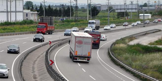 Bursa-İzmir yolunda 3 günlük tatil yoğunluğu