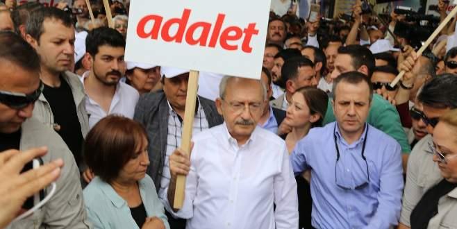 CHP'nin 'adalet' yürüyüşü başladı
