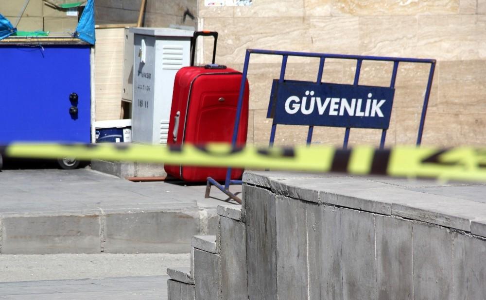 Erzurum'da şüpheli bavul, korkuttu