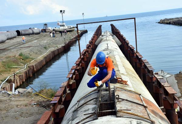 Ergene Nehri'ndeki kirliliği önleyecek projenin yapımı sürüyor