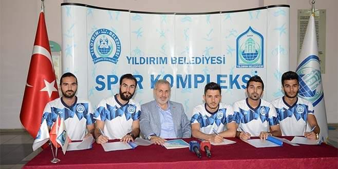 Yıldırım Belediyespor'dan 5 transfer
