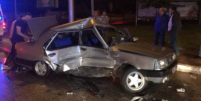 Bursa'da trafik kazası: 8 yaralı