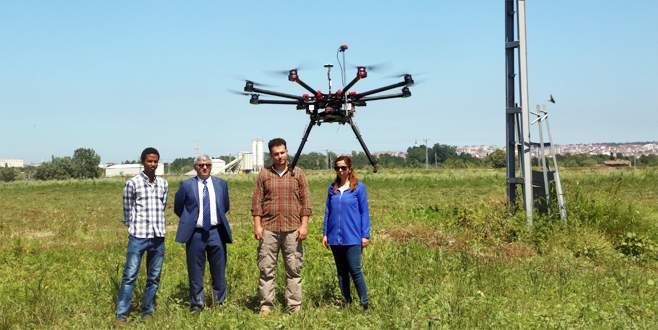 'Drone'lar tarım için uçuruluyor