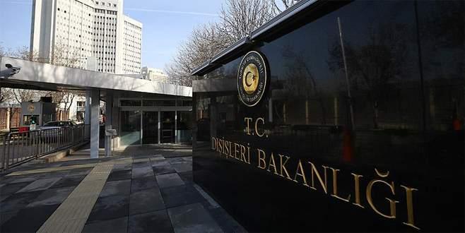 Dışişleri Bakanlığı: Saldırıyı en güçlü ifadelerle lanetliyoruz